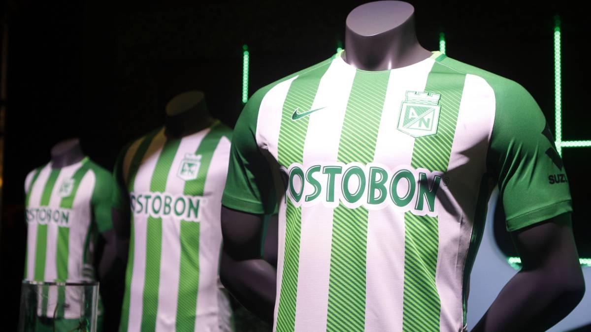Nacional regresa a las líneas clásicas en su nueva camiseta - AS Colombia 805938337