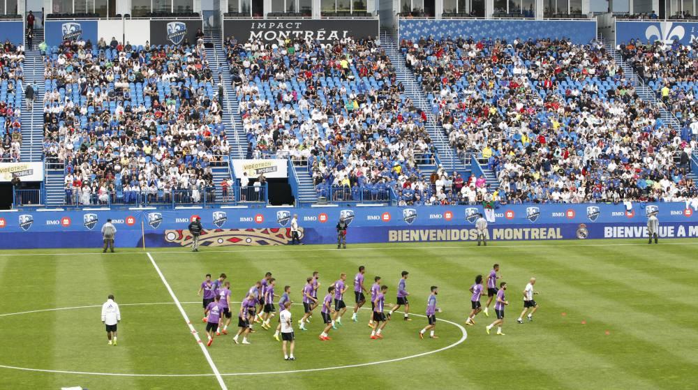 VIDEO: El Madrid se despidió de Montreal ante 3500...