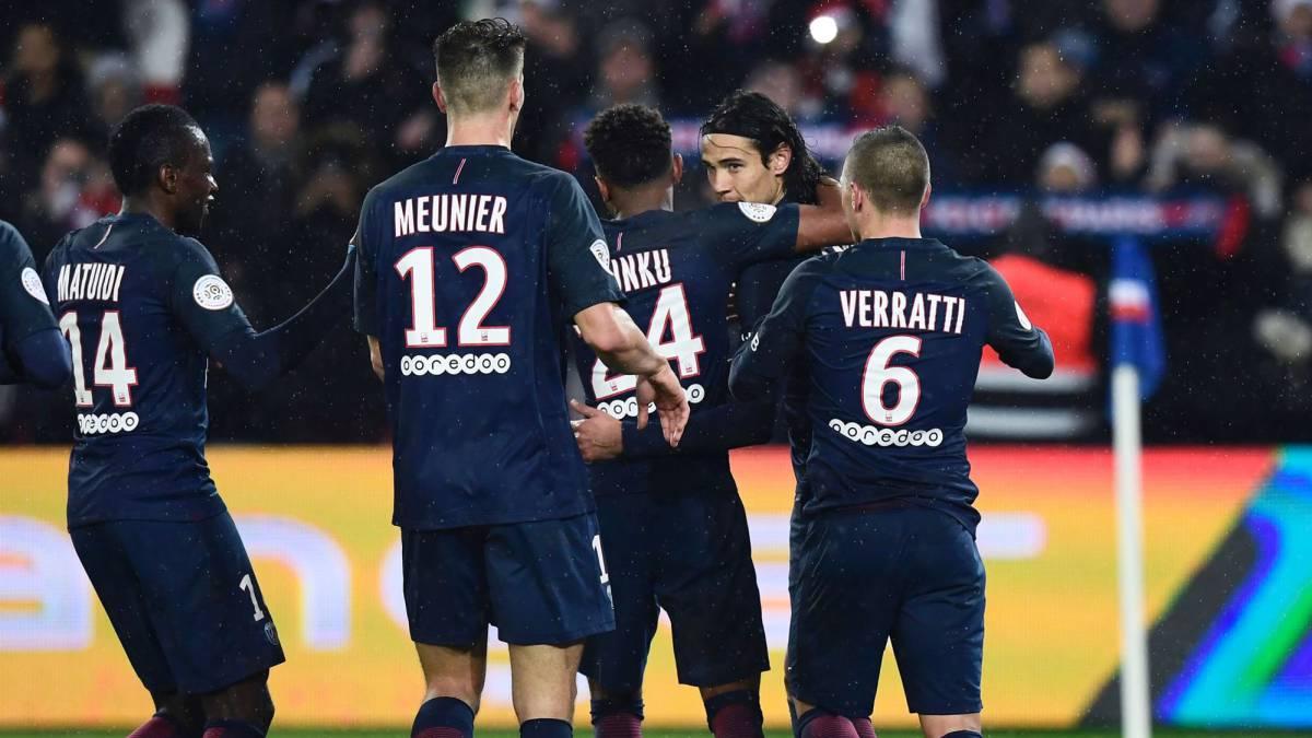 El PSG muestra su mejor versión en la goleada al Lorient (5-0)