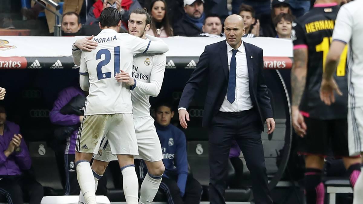 """Zidane: """"No hay otro como Bale; es un jugador especial"""""""