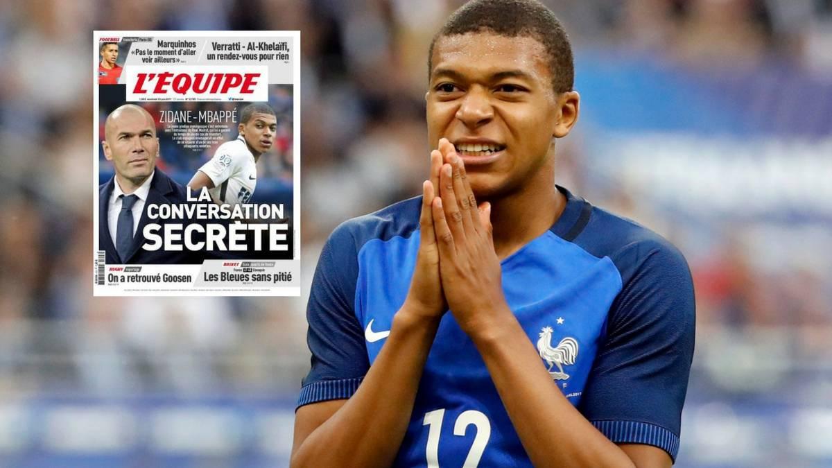 L'Equipe: ზიდანი მბაპეს შეხვდა და მას ძირითადში ადგილს დაპირდა