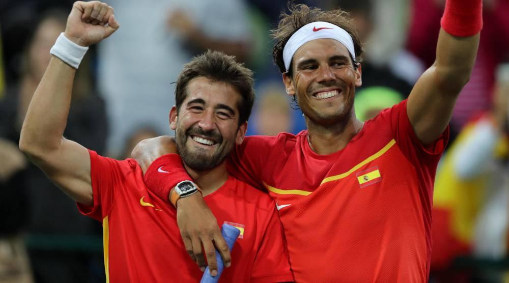 Rafael Nadal Marc López Oro en dobles tenis Juegos Olímpicos Río 2016