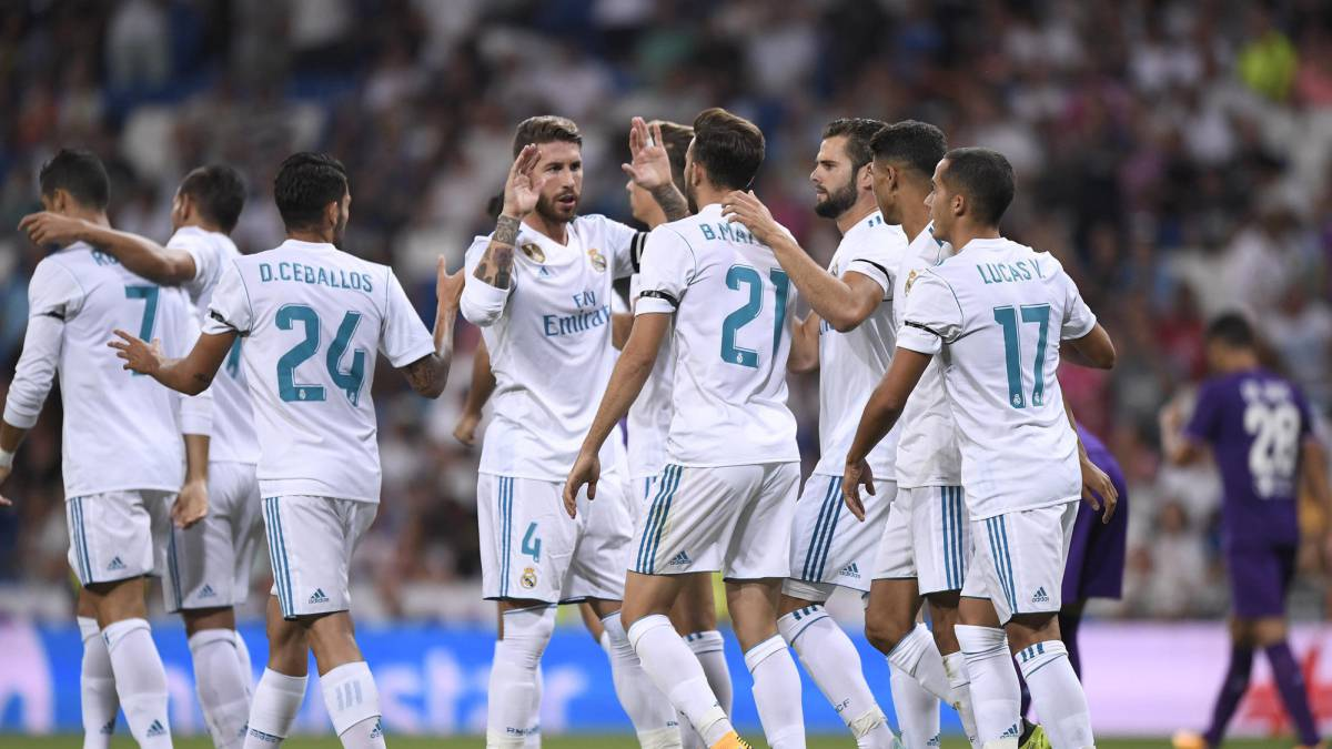 Resultado de imagen de R. Madrid 2 Fiorentina 1