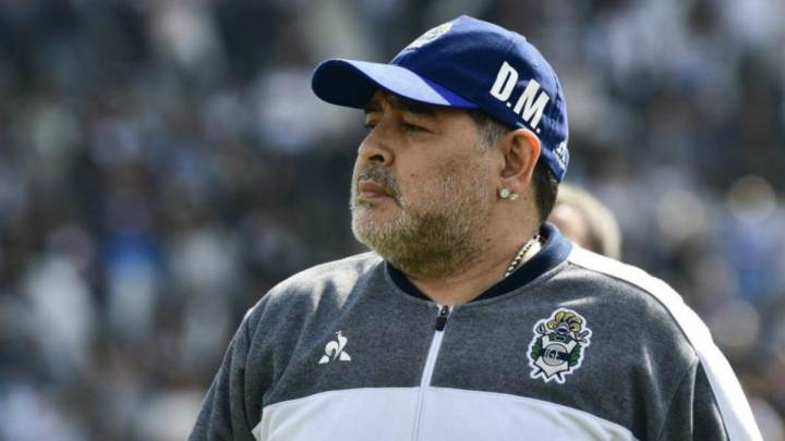 Diego Maradona ya no es más DT de Gimnasia de La Plata - AS Argentina