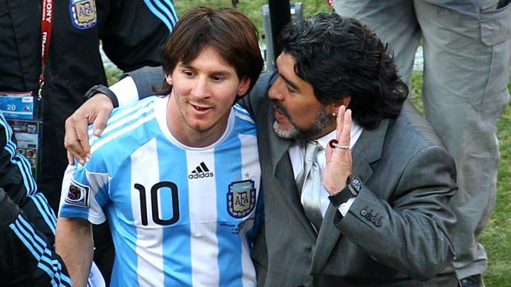 """Muere Maradona Messi: """"Nos deja pero no se va, porque el Diego es eterno"""" -  AS Argentina"""