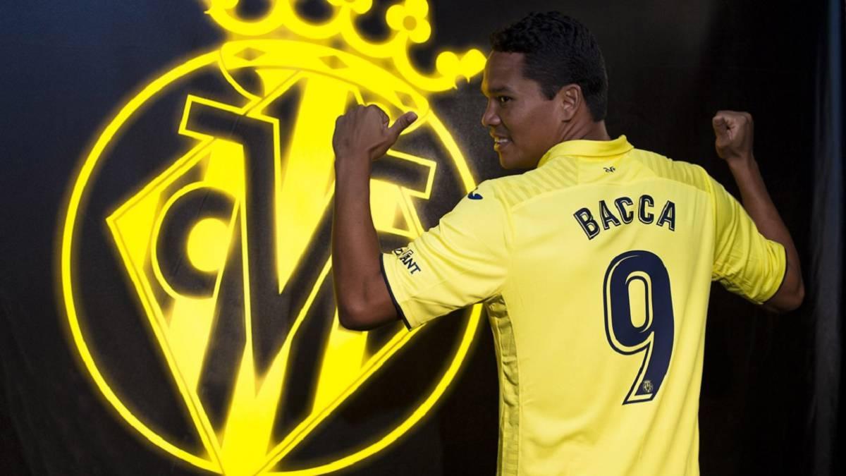 El Villarreal hace oficial el fichaje de Carlos Bacca AS