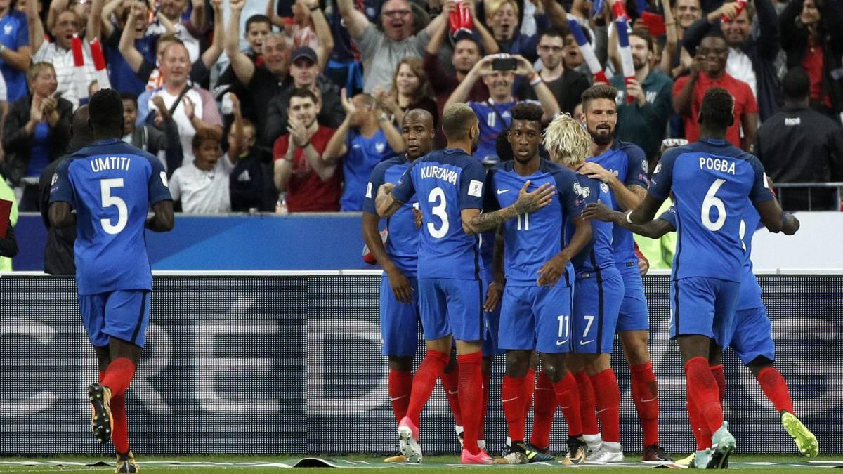 Francia 4 -Holanda 0  Rodillo francés  Holanda no apareció - AS.com 0bdf7a93a83