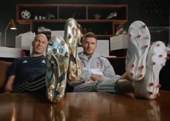 lavandería accesorios intencional  Zidane y Beckham protagonizan el último spot de Adidas... con vacile a  Pogba incluído - AS USA