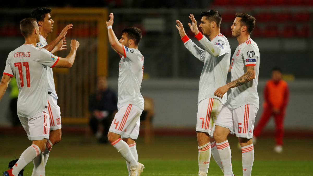 Отбор на Евро-2020. Мората приносит победу Испании, Румыния разгромила Фарерские острова - изображение 1