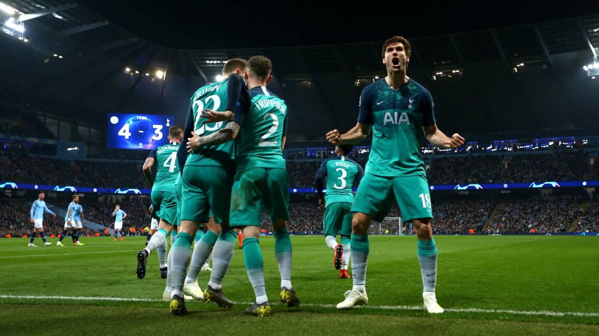 ¡El Tottenham y el VAR echan a Guardiola de la Champions¡¡