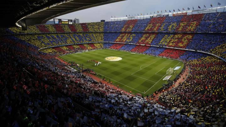 """El Gobierno no ve """"razonable"""" jugar el 26-O en el Camp Nou"""