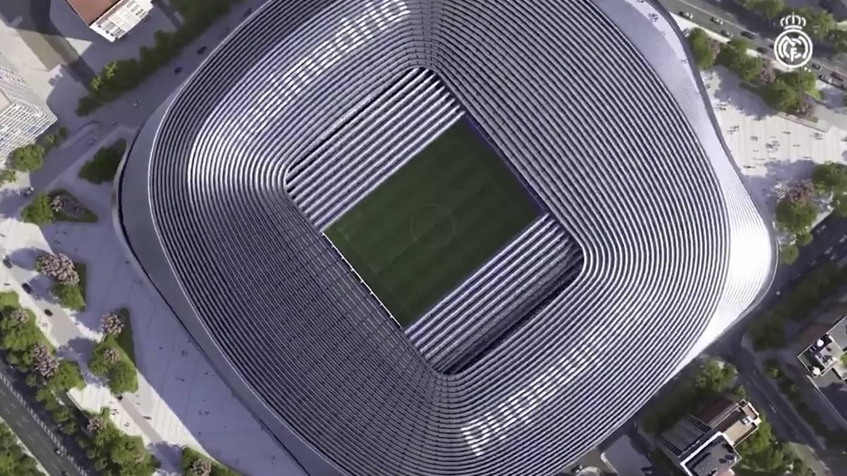 Ver vídeo / El vídeo de cómo va a quedar el nuevo Bernabéu: por dentro impresiona aún más