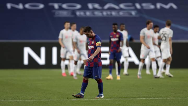 El Barça se instala en el infierno