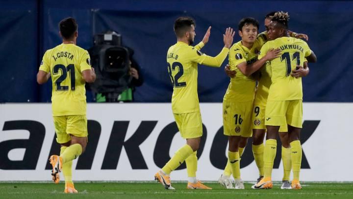 El Villarreal da con la fórmula: Take al 'Kubo' más Alcácer