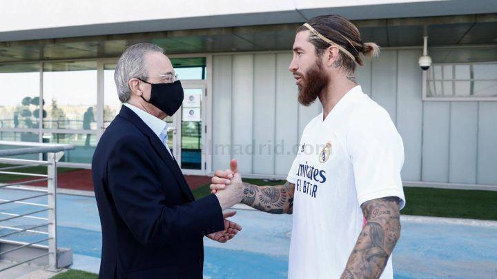 Principio de acuerdo entre Ramos y el Real Madrid para renovar por dos temporadas - AS.com