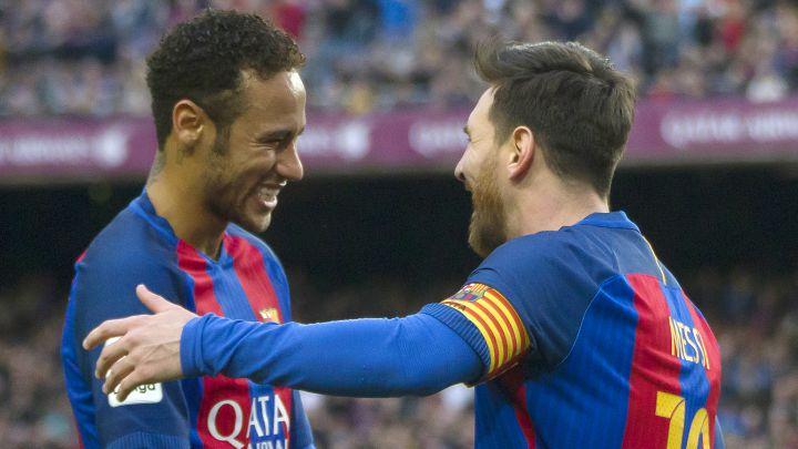 """Neymar: """"¿Messi? Tenemos que jugar juntos el año que viene"""" - AS.com"""