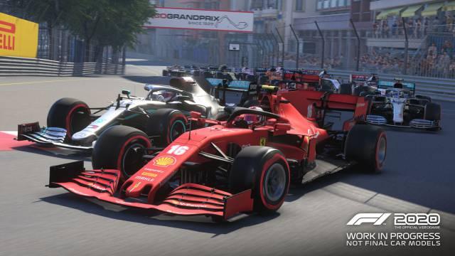 F1 2020 brilla en el Circuito de Mónaco: vuelta rápida en el ...