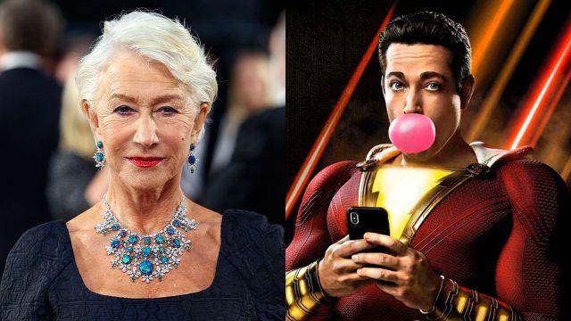 Shazam! Fury of the Gods ya tiene villana: Helen Mirren será Hespera, hija  del dios Atlas - MeriStation