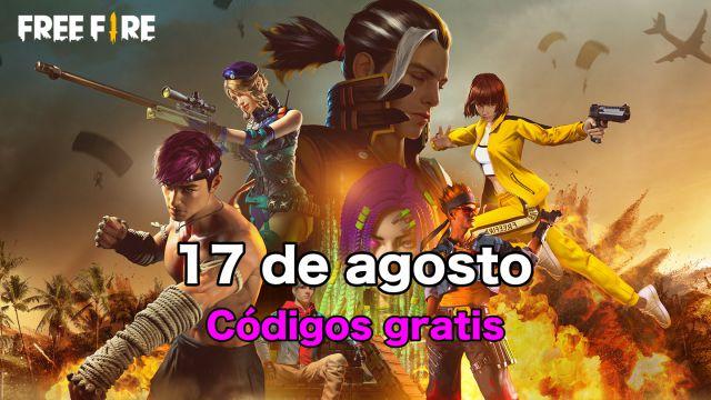 Códigos Free Fire de hoy 17 de agosto de 2021; todas las recompensas gratis  - MeriStation