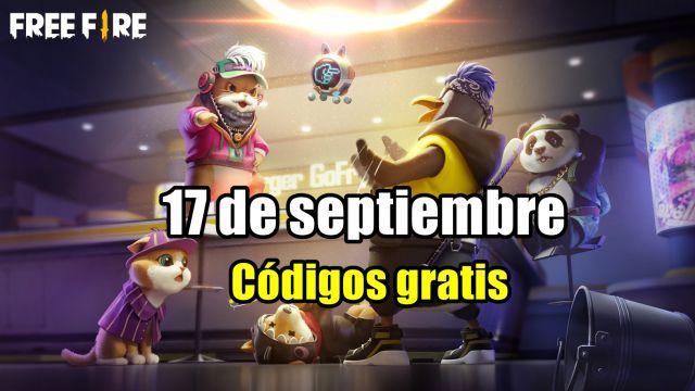 Códigos Free Fire de hoy 17 de septiembre de 2021; todas las recompensas  gratis - MeriStation