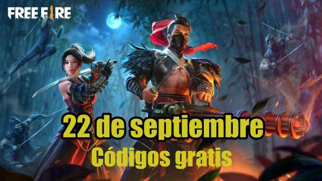 Códigos Free Fire de hoy 22 de septiembre de 2021; todas las recompensas  gratis - MeriStation