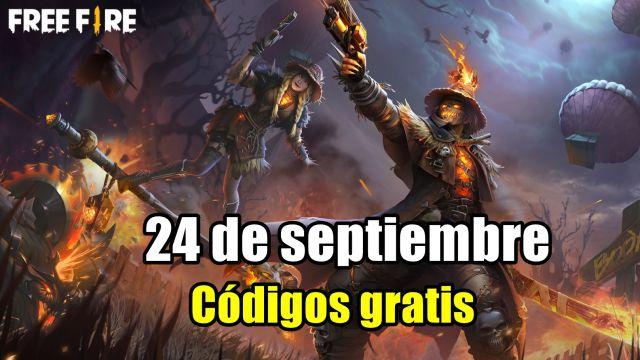Códigos Free Fire de hoy 24 de septiembre de 2021; todas las recompensas  gratis - MeriStation