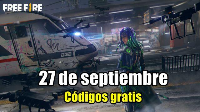 Códigos Free Fire de hoy 27 de septiembre de 2021; todas las recompensas  gratis - MeriStation
