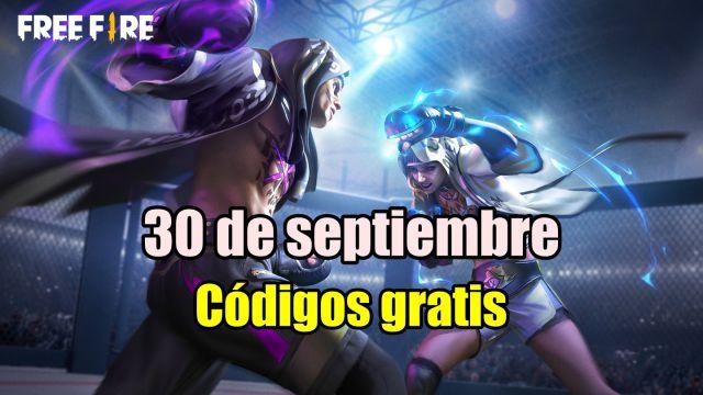 Códigos Free Fire de hoy 30 de septiembre de 2021; todas las recompensas  gratis - MeriStation