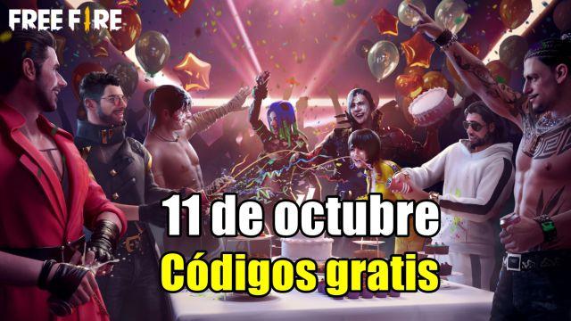 Códigos Free Fire de hoy 11 de octubre de 2021; todas las recompensas gratis  - MeriStation